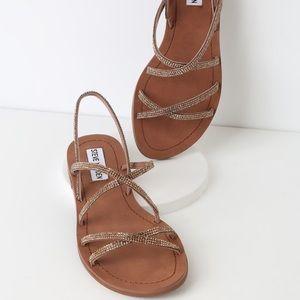 NEW Steve Madden Rhinestone Sandals